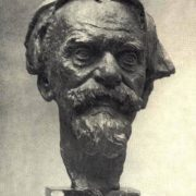 Portrait of sculptor T.E. Zalkaln. 1955-1956