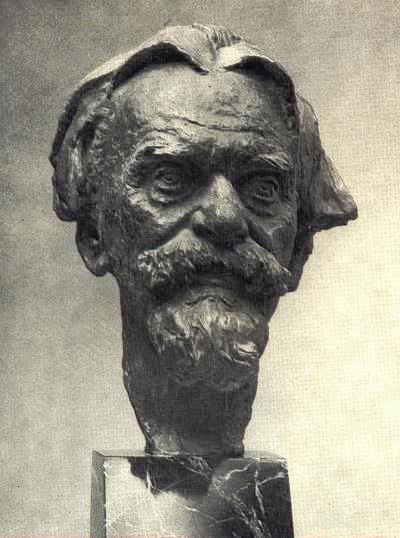 Portrait of sculptor T.E. Zalkaln. 1955-1956