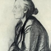 Portrait of wife. 1962