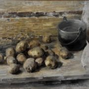 Potato and bowl. 1984. Oil on canvas