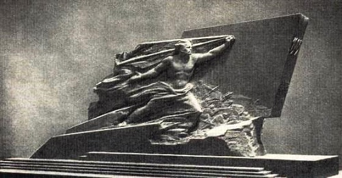 Project of monument. 1905. Gypsum. 1956-1957