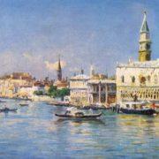 Rufin Sudkovsky. 1850-1885. Venice. 1879. Oil on canvas