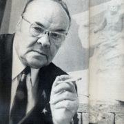 Soviet sculptor Nikolay Tomsky (6 December 1900 – 22 November 1984)