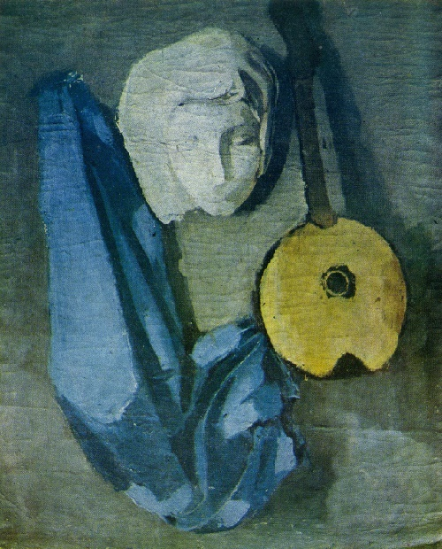 Still life with mask. 1934