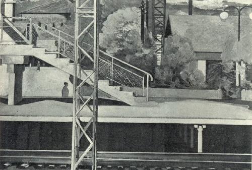 Tuchkovo railway station. 1964