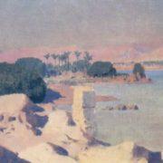 Vasily Polenov. 1844-1927. Elephantine Island. 1881. Oil on canvas