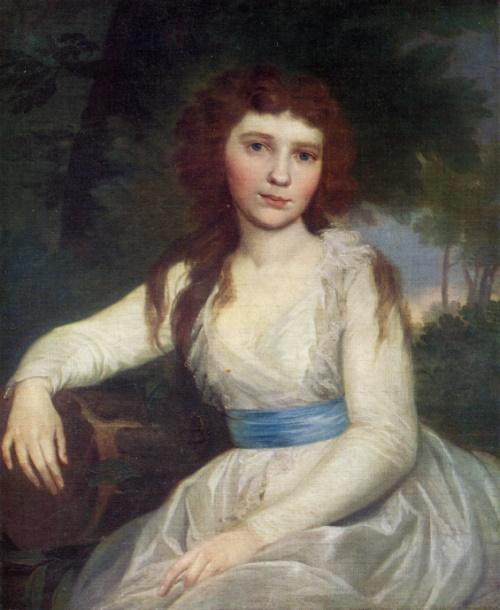 Vladimir Borovikovsky. 1757-1825. Portrait of E. Volkonskaya. Oil on canvas