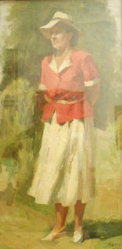 Woman portrait. 1949