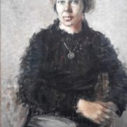 Yaroslava, 1986. Oil on canvas