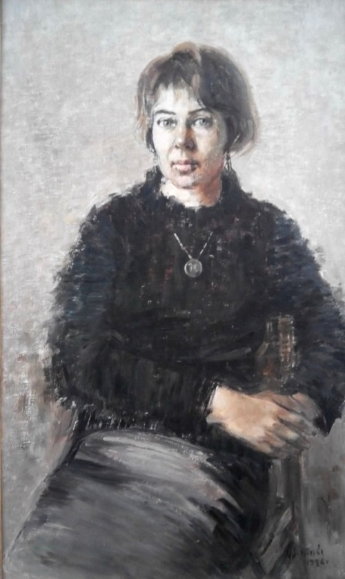 Yaroslava, 1986. Oil on canvas