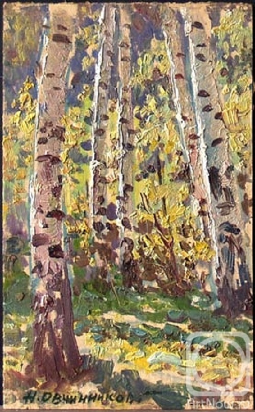 Birch wood. 1996