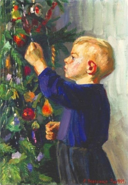 E. Tkachenko. New Year