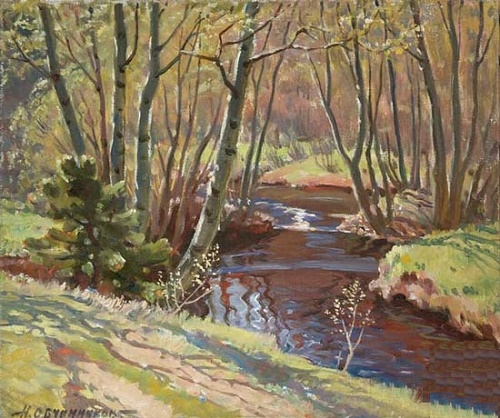 Forest river. 1958