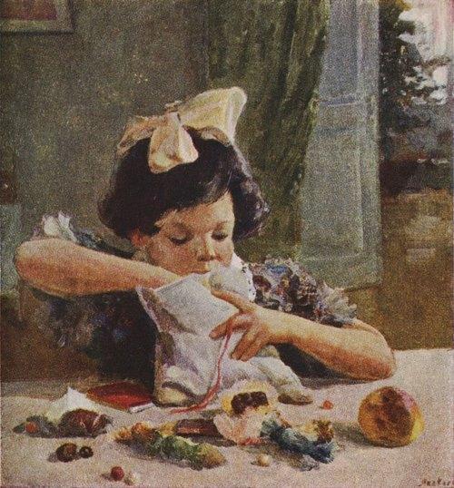 I.P. Yakovlev. New Year present. 1954