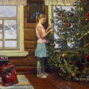 Irina Rybakova. 'Christmas tree'. 2012