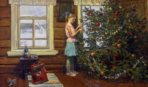 Irina Rybakova. 'Christmas tree'. 2012