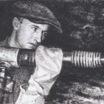 Soviet Russian artist Pyotr Dmitrievich Buchkin