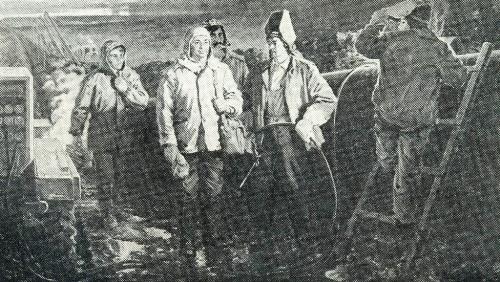 Soviet artist Nikolai Ovchinnikov