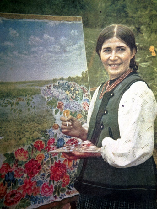 Photo of young artist Yekaterina Belokur