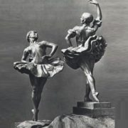 Porcelain figurines of ballet dancers
