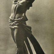 Porcelain statuette of Maya Plisetskaya, work by Elena Yanson-Manizer. 1959
