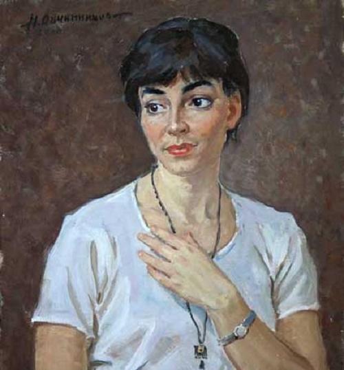 Portrait of Anna, student of art school