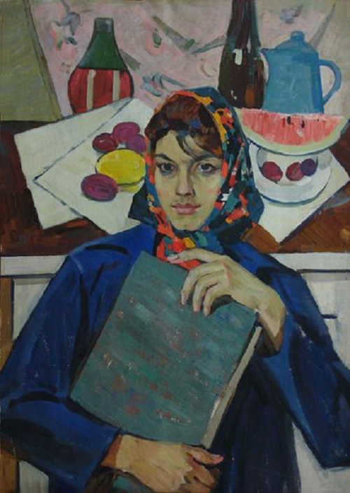 Portrait of a student