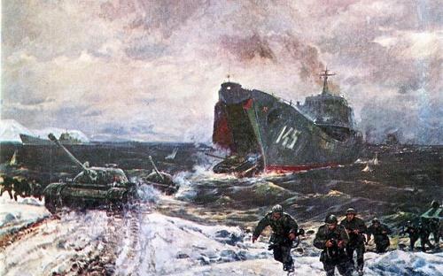 Sea landing