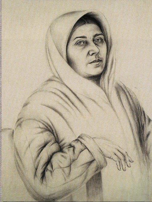 Self-portrait. 1950