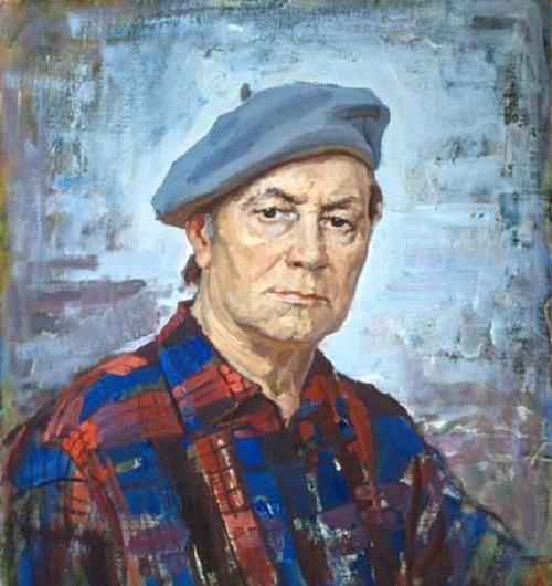 Self-portrait. 1992