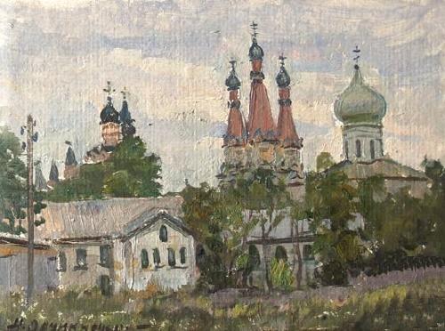 Troitsk monastery. 1992