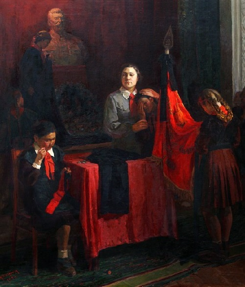 Socialist realism painter Fyodor Stukoshin 1914-1974