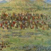 AF Lutfullin (Ufa). Sabantuy. 1981. Oil on canvas