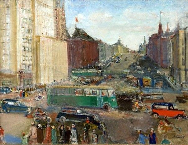 Alexander Labas (1900-1983) Moscow. 1937