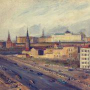Soviet painter Alexandr Arkadyevich Labas 1900-1983