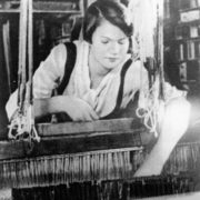 Archive photo of Dusya at work