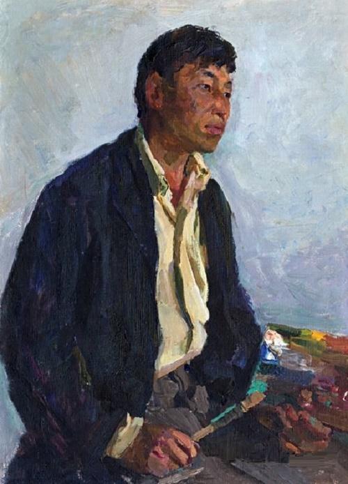 Artist Dzhumashev, 1962