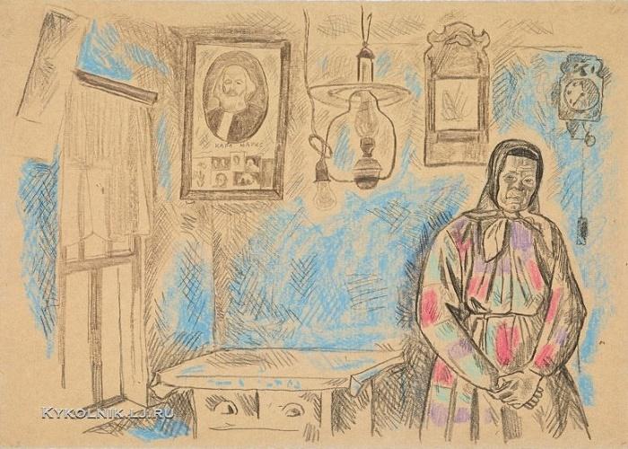 Blue interior. 1967-1968