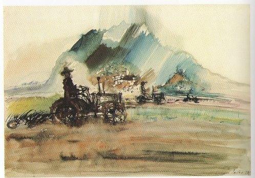 Caucasus. First tractors. 1929