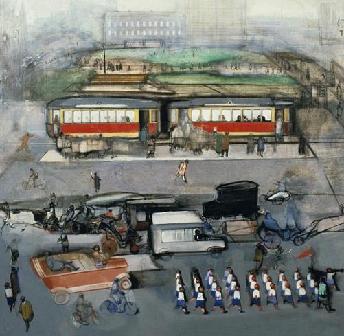 City square. 1926
