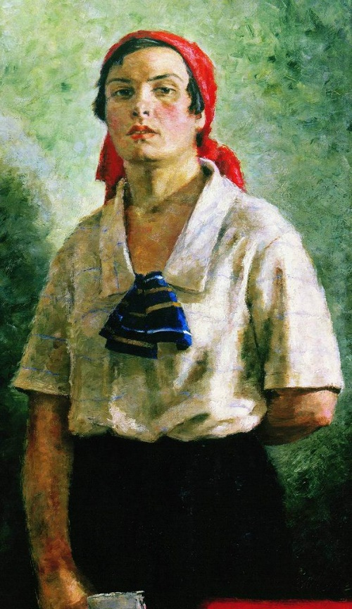 Female Delegate. 1927. Oil on canvas