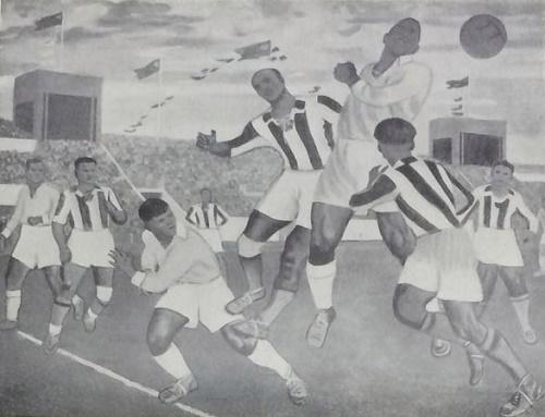 Football match USSR - Turkey. 1932-1933