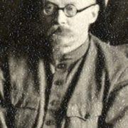 Georgy (Yuri) Leonidovich Pyatakov. 1931