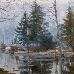 Soviet Russian artist Alexandr Moravov 1878-1951