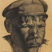 Head of a miner (Kizel mines), 1924