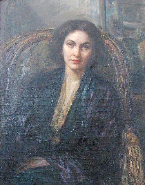 I.P. Alexeyeva (Shilnikova) portrait. 1965