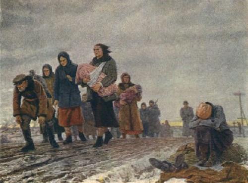 Into slavery. 1942