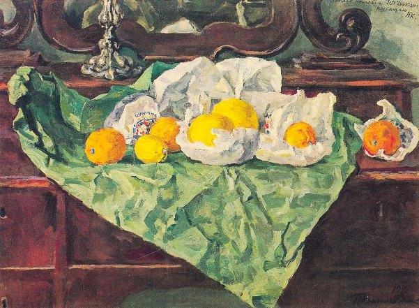 Lemons, still life