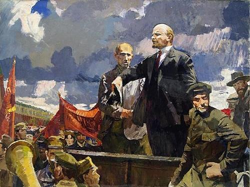 Soviet artist Nikolay Prokofyevich Karacharskov
