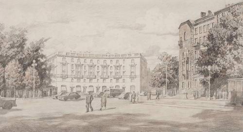 Kirov Avenue, 1958